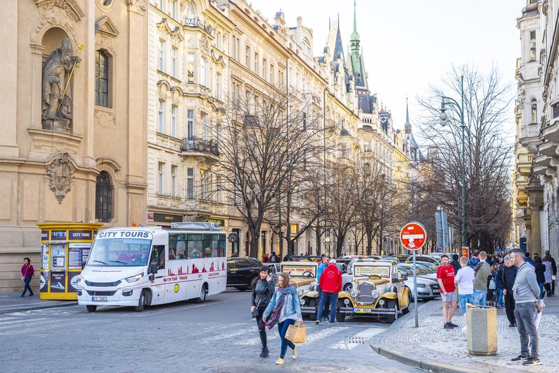 Prague stad royaltyfri fotografi