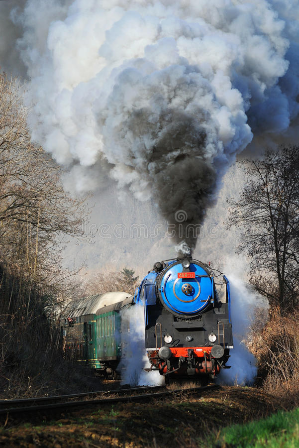 Free Prague Steam Train Stock Photo - 29276340