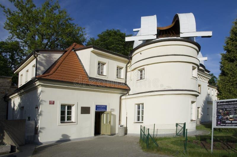 Prague Stefanik Observatory stock images