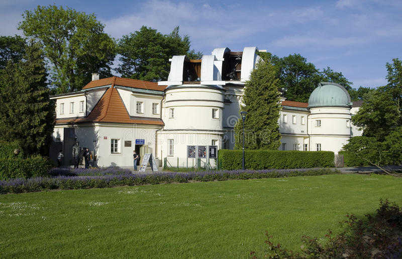 Prague Stefanik Observatory royalty free stock images