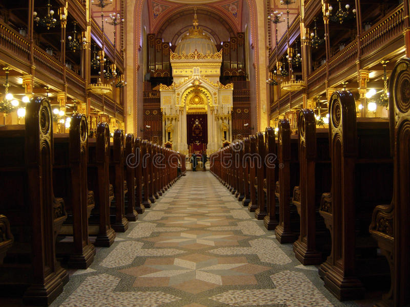 Download Prague Synagogue stock photo. Image of indoors, religion - 9804282