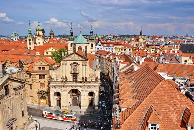 Prague tak royaltyfri fotografi