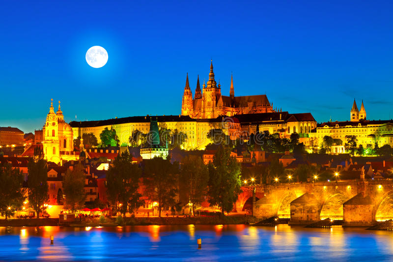 Prague Tjeckien Royaltyfri Fotografi