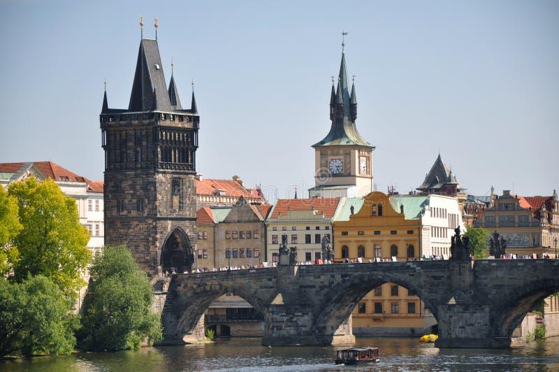 Prague Tjeckien arkivbild