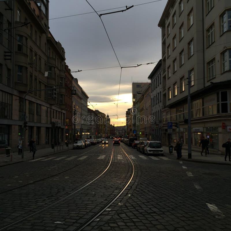 Prague town royalty free stock photography