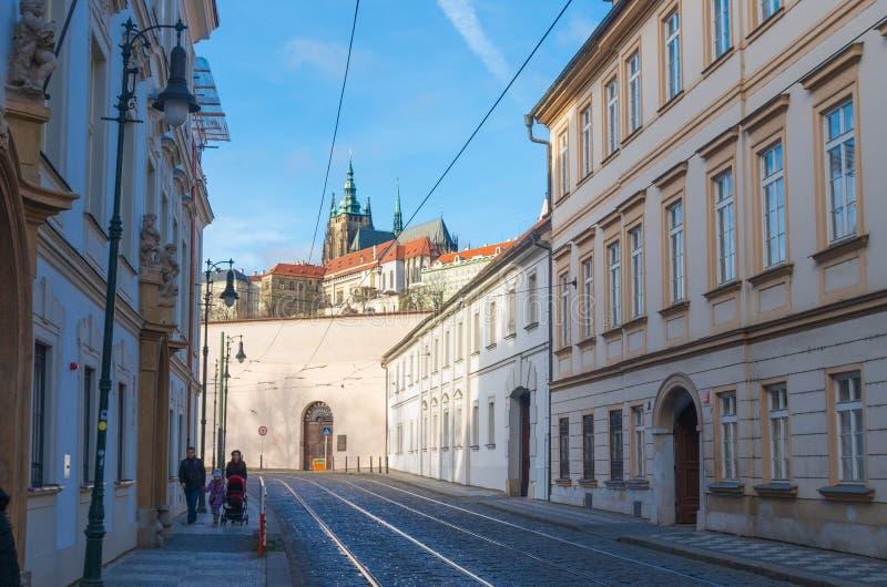 Download Prague ulica zdjęcie editorial. Obraz złożonej z city - 57661361