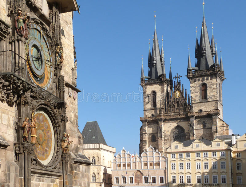 Download Prague (UNESCO) stock photo. Image of astrology, travel - 38754458