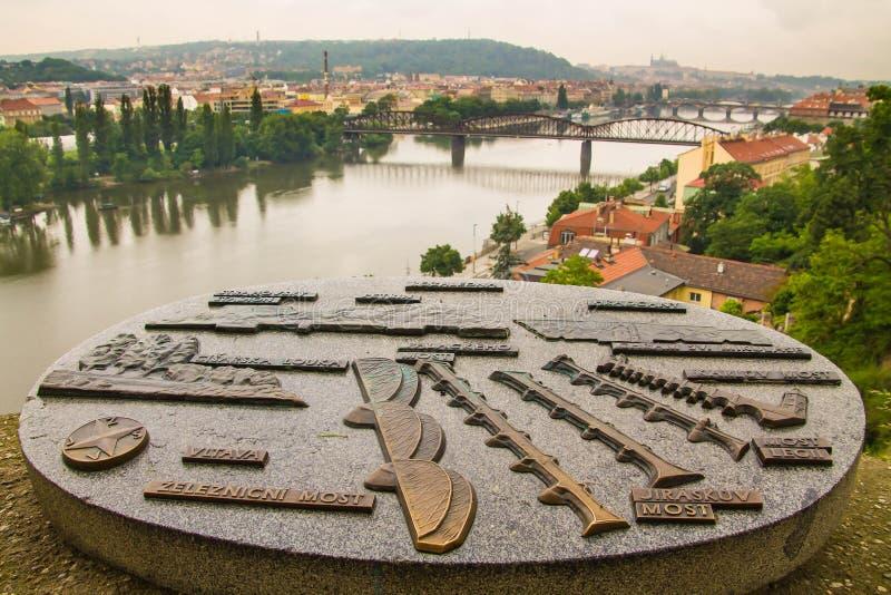 Prague, view royalty free stock photos