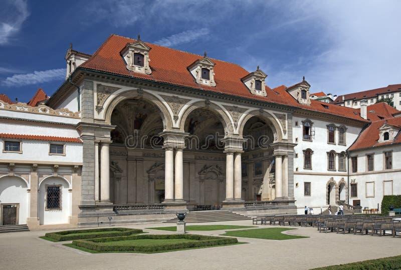 Prague - Wallenstein Garden and Palace stock image