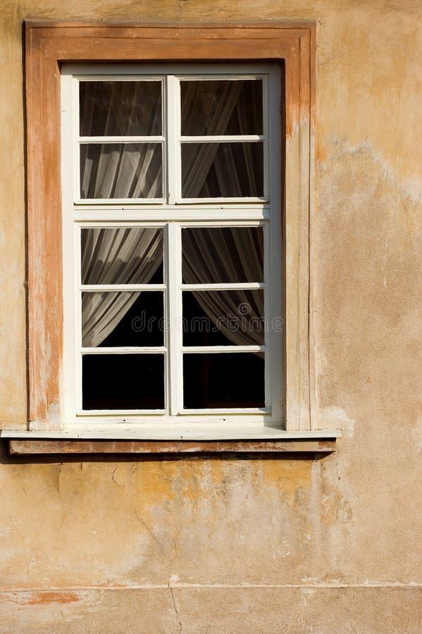 Prague window royalty free stock photography