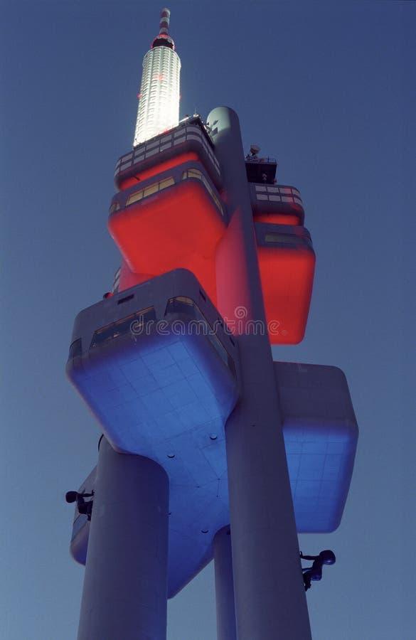 Prague Zizkov TV Tower stock photos