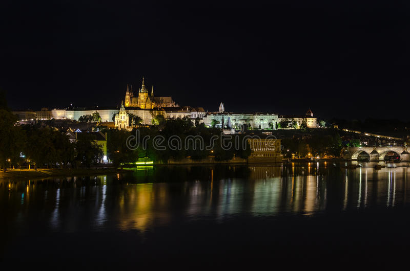 Praha fotografering för bildbyråer