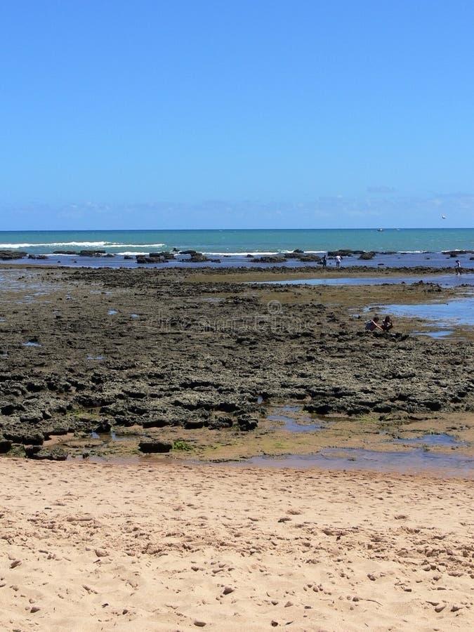 Praia делает пляж сильной стороны стоковая фотография