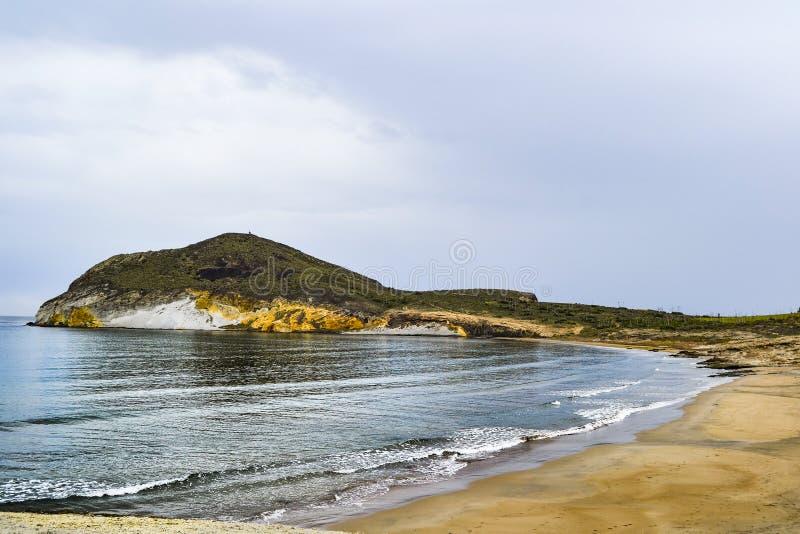 Praia 'de Los Genoveses ' imagem de stock royalty free