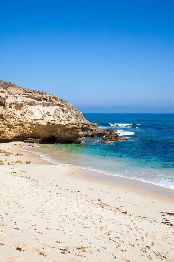 Praia abandonada perto de Melbourne imagem de stock royalty free