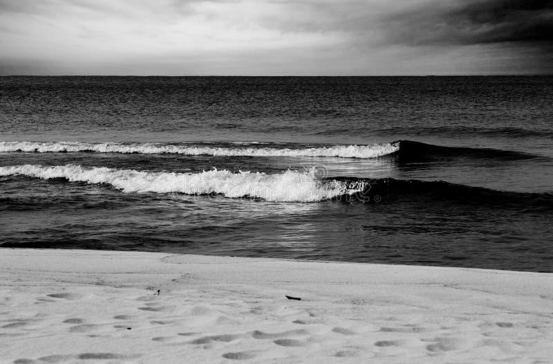 Praia abstrata fotografia de stock royalty free
