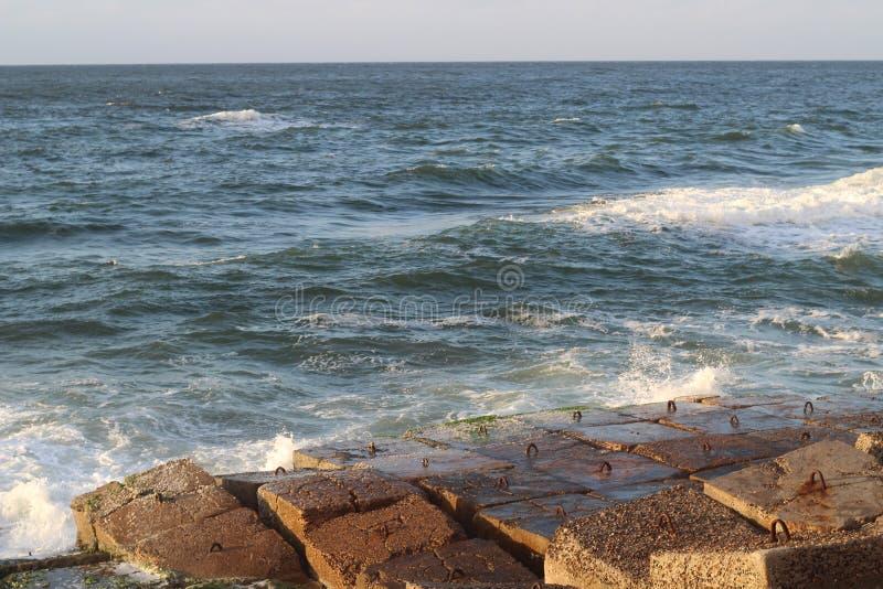 Praia Alexandria imagem de stock royalty free