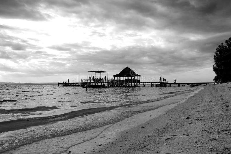 Praia Ambon de Ora fotografia de stock