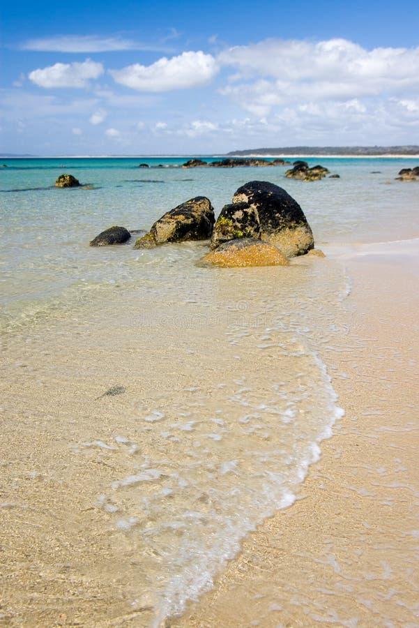 Praia australiana bonita imagens de stock royalty free