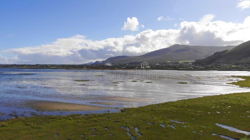 A praia bonita da Irlanda de Glenbeigh imagem de stock royalty free