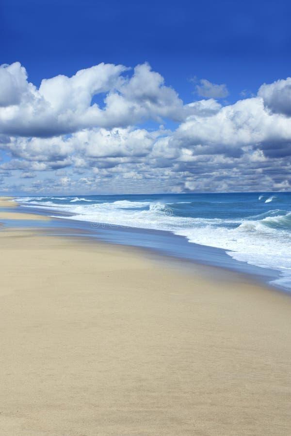Praia bonita de Cape Cod imagens de stock