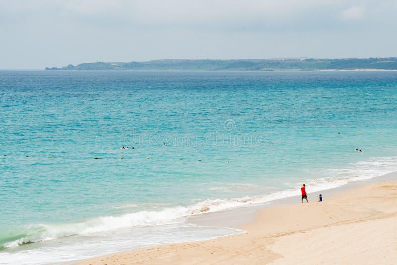 Praia bonita em Kenting fotos de stock