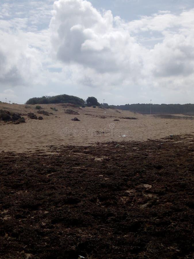 Praia bonita Tamara Marrocos fotos de stock