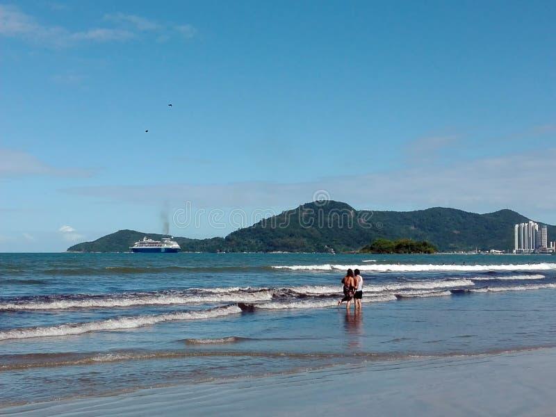 Praia Brasil de Camboriu fotos de stock