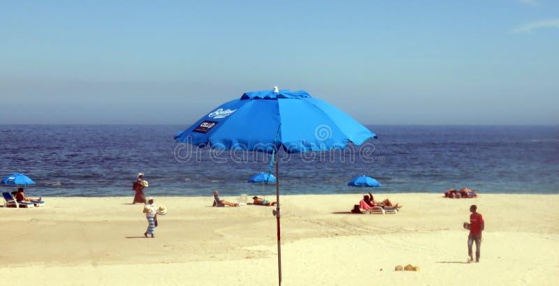 Praia Cape Town do louro dos acampamentos fotos de stock