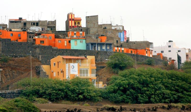 Praia Cape Verde. Praia on the island of Santiago is the capital city of Cape Verde stock photos