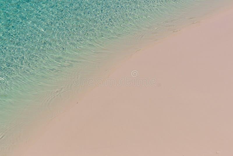 Praia com espaço vazio Conceito do verão fotos de stock