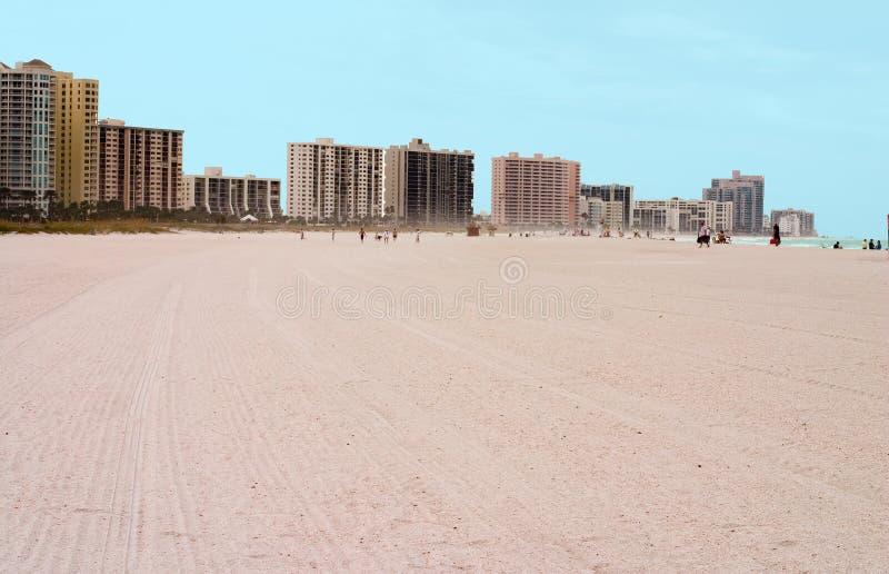 Praia da área de Tampa Florida imagem de stock