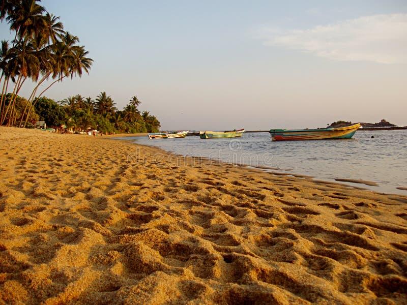 Praia da areia imagens de stock
