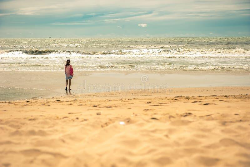 Praia da areia fotos de stock royalty free