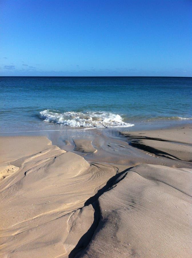 Praia da Austrália Ocidental fotografia de stock