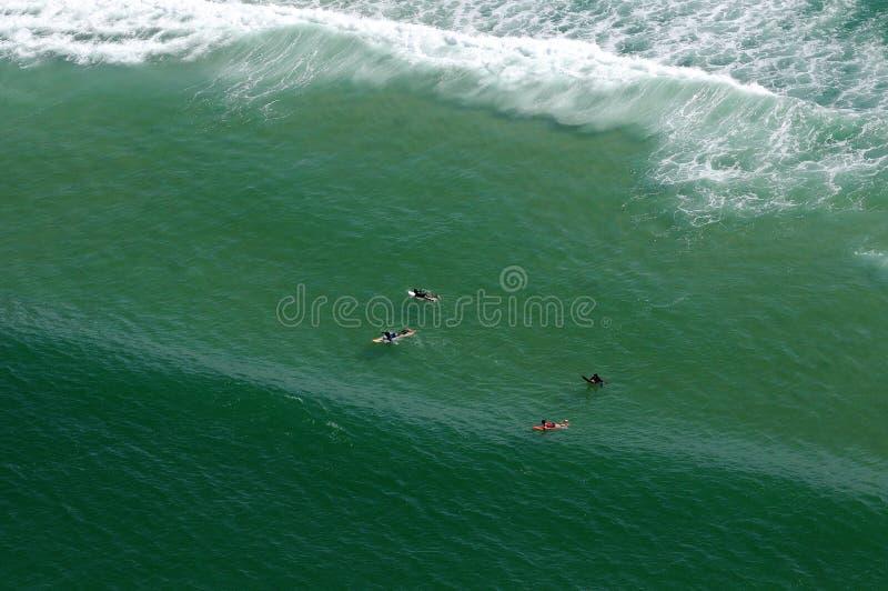 Praia da Barra da Tijuca fotografia stock