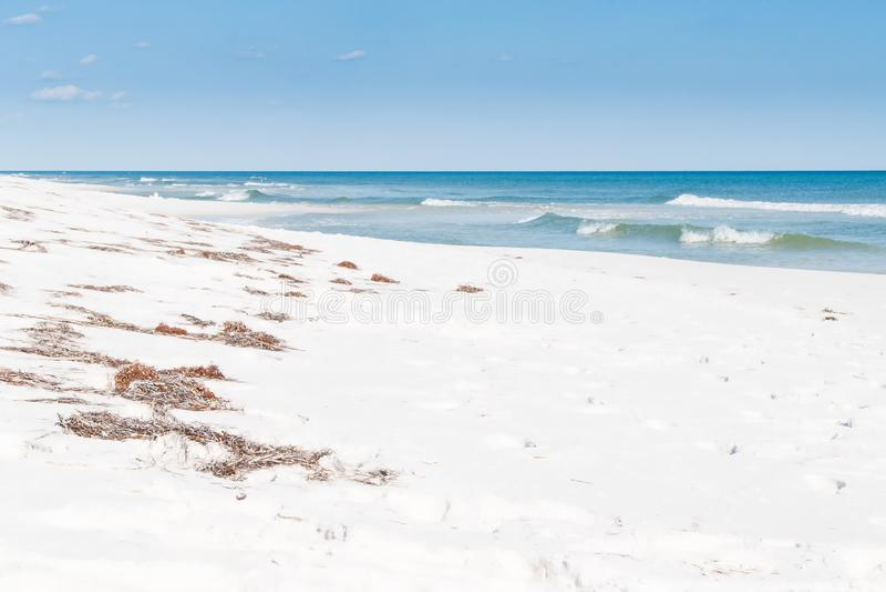 Praia da praia de Pensacola, Florida imagens de stock royalty free