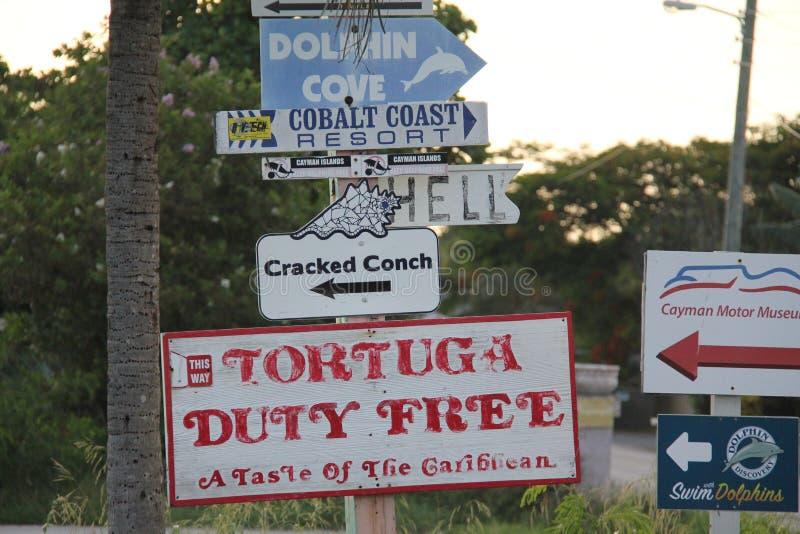 Praia da ilha de Grande Caim?o fotografia de stock royalty free
