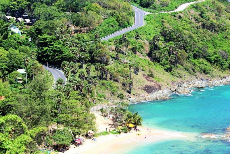 Praia da ilha de Tailândia Phuket imagem de stock royalty free