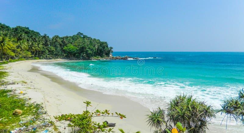Praia da liberdade, Phuket, Tailândia fotos de stock royalty free