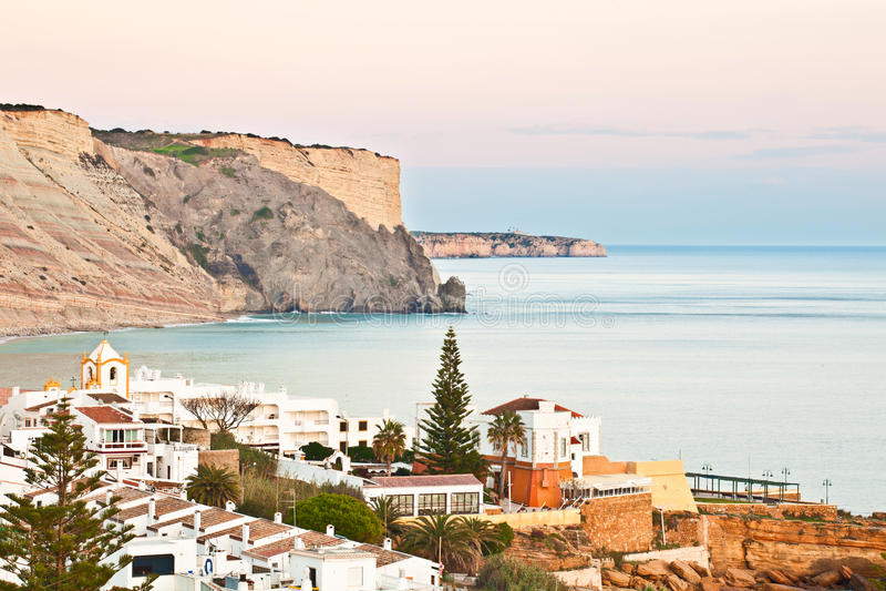 Praia DA Luz, Lagos, Algarve fotos de archivo