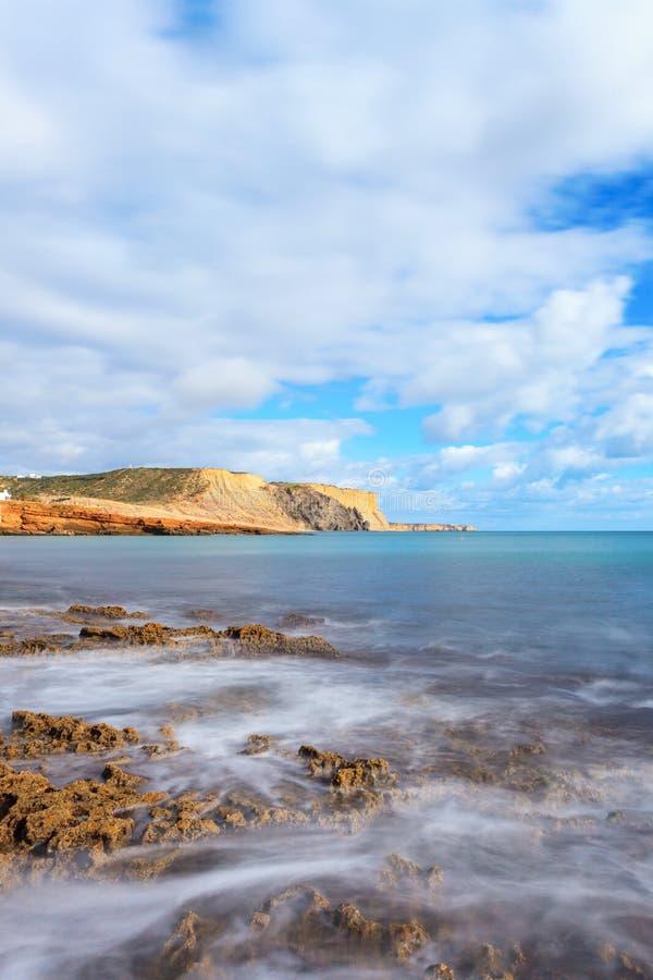 Praia DA Luz, Lagos, Algarve, Portugal fotos de archivo libres de regalías