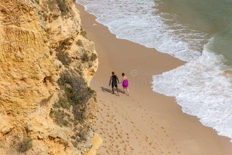 Praia DA Marinha foto de archivo