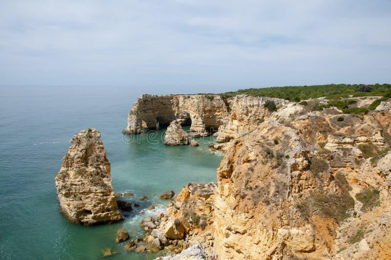 Praia da Marinha - Algarve Coast - Portugal royalty free stock image