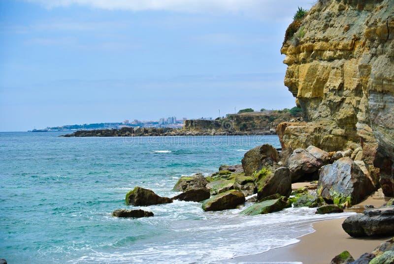 Praia DA Parede image stock