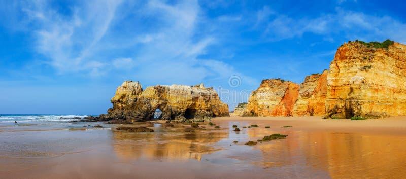 Praia da Rocha, Algarve, Portugal royalty free stock photography