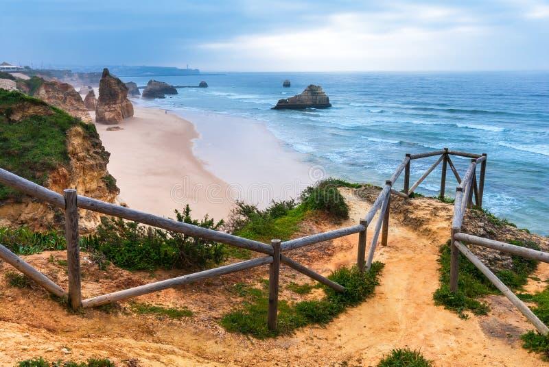 Praia da Rocha, Portugal stock photography