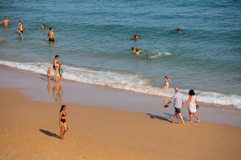 Praia DA Salema photo libre de droits