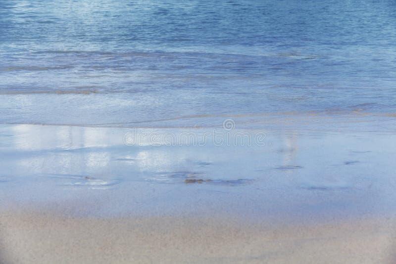Praia das caraíbas fotografia de stock