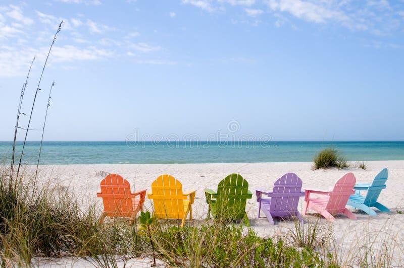 Praia das férias de verão imagem de stock royalty free